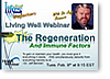 Regeneration and Immune Factors Webinar